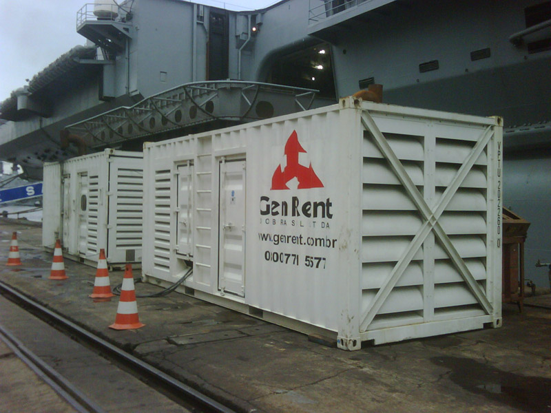 1MW Generators Supply to Brazilian Navy