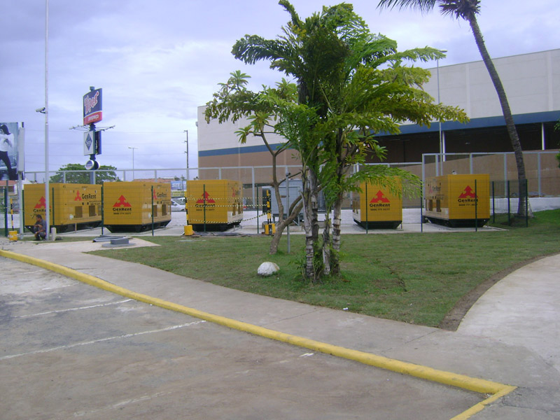 4MW Peak Shaving Generators Supply, Shopping Barra , Salvador, Bahia, Brazil-1